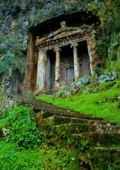 Amynthas Rock Tomb, 4th Century, Turkey