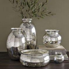 Interior Design * Beautiful Collection of Mercury Glass