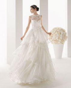 abito da sposa Mayra Two by Rosa Clará 2014