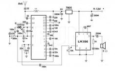 A simple FM Radio circuit with diagram and schematic using