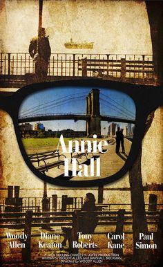 Neurotic New Yorker Alvy Singer (played by Woody Allen, of course) traces what went wrong in his relationship with Annie Hall (D. Paul Simon, Diane Keaton, Woody Allen, Good Movies To Watch, Great Movies, Annie Hall Movie, Max Singer, O Movie, Best Romantic Movies