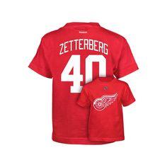 Boys 8-20 Reebok Detroit Red Wings Henrik Zetterberg Premier Tee, Size: Xl(18/20)