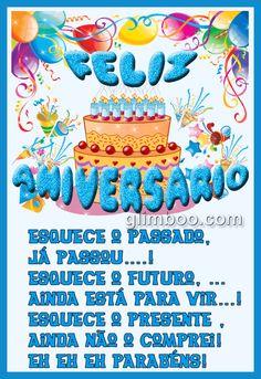 Imagens, mensagens, recados e animações de Feliz Aniversário para dar os  #felicidades #feliz_aniversario #parabensparabéns aos seus amigos e familiares Birthday Cake, Humor, Album, Sandro, Marvel, Iphone, Videos, Birthday Cards For Men, Happiness