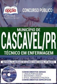 Apostila Municipio De Cascavel Para O Cargo De Tecnico Em