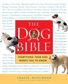 The Dog Bible: Everything Your Dog Wants You to Know Dog Psychology, Dog Body Language, Animal Nutrition, Pet Nutrition, Nutrition Guide, Puppy Day, Dry Dog Food, Pet Food, Dog Behavior