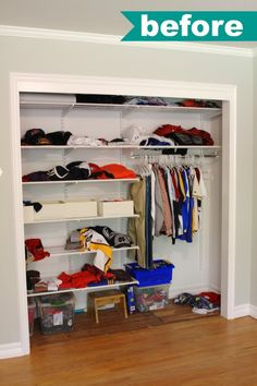Closet Organization Made Simple by Martha Stewart Living at The Home Depot Closet System - simply organized