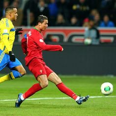A Cristiano Ronaldo hat-trick takes Portugal to World Cup finals - Cristiano Ronaldo scored a hat-trick against Sweden to secure Portugal a start at the 2014 World Cup finals. Getty Images: Martin Rose