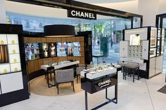 Chanel perfume counter
