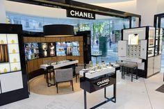 Retail Design | Health & Beauty | Shop Design | Chanel perfume counter