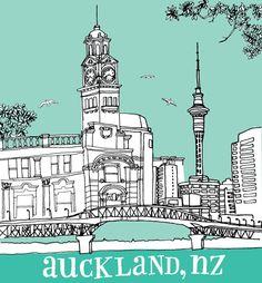 auckland, new zealand travel guide via design*sponge