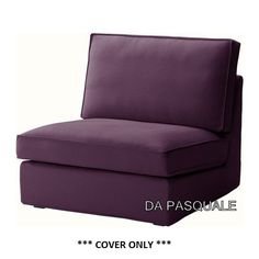 IKEA KIVIK  Slipcover for OneSeat Section Dansbo Lilac cover only * Click image for more details. (This is an affiliate link and I receive a commission for the sales)