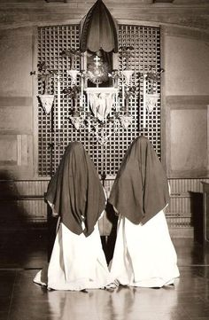 Adoration Dominican Sisters, 1947 Seek His Face always. Eucharistic Adoration - I have done 1 hour per week. The best hour of the week along with Mass!