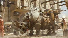 ArtStation - 'Desert Animal', Arnaud Valette