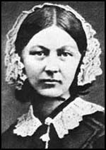 Florence Nightingale OM, RRC was a celebrated English nurse, writer and statistician. She came to prominence for her pioneering work in nursing during the Crimean War, where she tended to wounded soldiers.   Born: May 12, 1820, Florence  Died: August 13, 1910, London  Education: King's College London