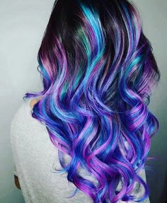 Hennablossem unicorn hair www.sandrashair.asia