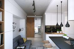 Мастерская дизайна Geometrium представила дизайн интерьера однокомнатной квартиры в ЖК «Снегири» в Истринском районе Московской области. Над проектом работали Алексей Иванов, Павел Герасимов и …
