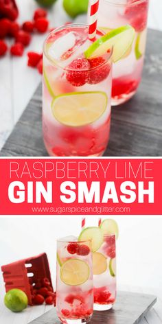 Gin Drink Recipes, Gin Cocktail Recipes, Alcohol Recipes, Fun Cocktails, Summer Drinks, Simple Gin Cocktails, Gin Mixed Drinks, Gin Rickey Recipe, Drink Recipes