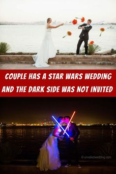 #Couple #Star #Wars #Wedding #Dark #Side #Invited Diy Crafts For Home Decor, Diy Crafts For Adults, Fun Diy Crafts, Baby Animals Pictures, Cute Animal Photos, Cute Wild Animals, Funny Animal Pictures, Fall Family Photo Outfits, Fall Family Pictures