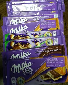 If you are a fan, What is your favorite flavor of Milka Chocolate?  #Milka #milkachocolate #chocolate #EuropeanChocolate