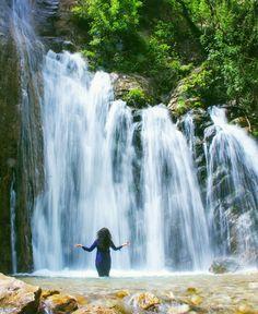 Vark Waterfall; Khoram Abad County, Lorestan Province, Iran (Persian: آبشار وارک؛ شهرستان خرم آباد، استان لرستان) Credit: M. Esfandiar