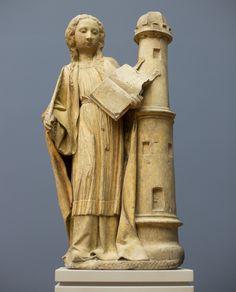 https://flic.kr/p/SgTSph   Barbara von Nikomedien / Sfânta Barbara / Barbe la grande martyre   Claus de Werve, Kalkstein um 1420, Inv. 12/77