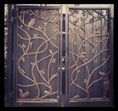 Window Bars Security Door Restaurant Design Wrought