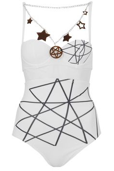 Purely for showing off a tan - Yes Master Pentagram Swimsuit, £55