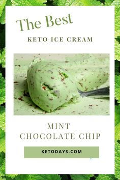 Mint chocolate chip is a crowd favorite when it comes to ice cream. Just because you're doing a Keto or low-carb diet doesn't mean you have to give that up! Here's a Keto ice cream recipe for mint chocolate chip ice cream to satisfy your palette. Mint Chocolate Chip Ice Cream Recipe, Keto Chocolate Recipe, Keto Chocolate Fat Bomb, Cooking Chocolate, Chocolate Shake, Mint Chocolate Chips, Keto Ice Cream, Ice Cream Pies, Mint Recipes