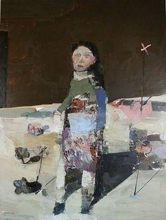 JEAN PIERRE RUEL, Merovee 2014, huile sur toile / oil on canvas