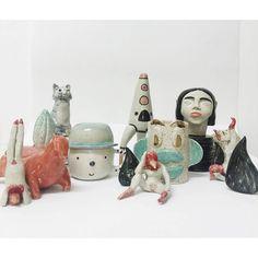 Foto de Famila en El taller de Lusesita , piezas de luciano lozano ,Eva Vazquez ,Lorena Franconi ,Eva Vazquez ,Laia Mc,Irina Slimobich , Xenia ,,,