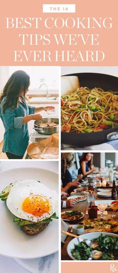 The 14 Best Cooking Tips We've Ever Heard  #purewow #advice #food #tip #cooking