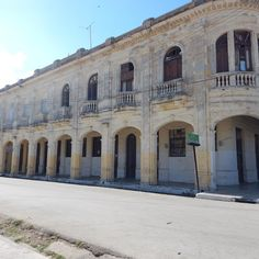"""A beautiful building I found walking down the street in Caibarien, Cuba. #cuba #caibarien #vacation #beautiful #old #love #life #visiting"""