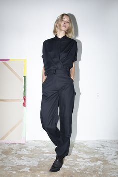 Twist top and Wrangler pant - from Assembly New York SS15 Womens Lookbook