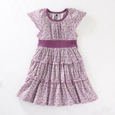 tea collection jardin ruffle twirl dress - 5t