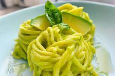 """L'AVOGADO é stato la mia fonte di ISPIRAZIONE nel preparare questo piatto gustoso, alternativo e salutare.  """"Spaghetti al pesto di Avogado""""."""