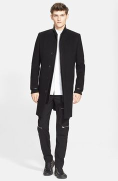 Tim Coppens Topcoat, Sport Shirt & Trousers available at #Nordstrom
