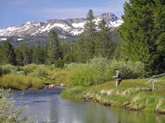 Fishing high in the Sierra Nevadas