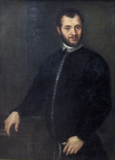 Young Man in Black, c.1580, by Paolo Vernoese