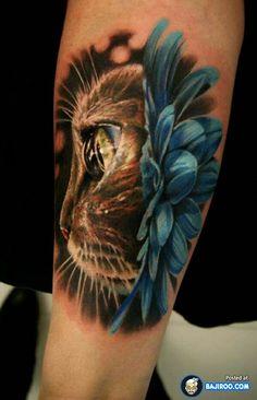 Cat tattoos on Femme.Ink!