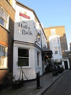 ~The Holly Bush - tiny hidden pub in Hamstead Heath, London~