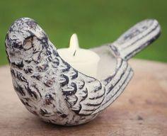 Love Bird Votive Candle Holder