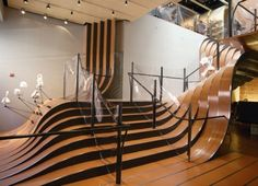 Longchamp Store Stairs by Heatherwick Up We Go: 10 Amazing Sets of Stairs