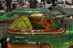 Lowrider paint and plush