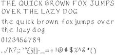 This is the first font I ever created.  It is a nice, normal handwriting font.  For both personal and commercial use. Just be sure to read the agreement. Credit must be given on all products created using these fonts.   Copyright 2015 Tara Simpson