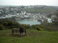 Port Isaac, Cornwall, where the Doc Martin series is filmed, known on the series as Port Wenn. So cozy