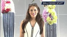 Anushka Ranjan Show Deep Neck at the Shane Falguni brunch for Rustomjee ...