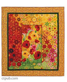"""Sew amazing One Yard Wonders quilts with a single fabric! Maxine Rosenthal and Linda Bardes answer FAQs like choosing a ruler and sewing hexagon blocks with no """"Y"""" seams for your kaleidoscope quilt. Quilting Tutorials, Quilting Projects, Quilting Designs, Quilting Templates, Panel Quilts, Quilt Blocks, Bed Quilts, Easy Quilts, Mini Quilts"""