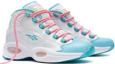 Easter Reebox Question These Are A Size 7 In Kids And I Usually Wear A Size 8 In Women'S Shoes Use These Once*Reasonable Offer* Thinking About Selling If Interested Let Me Know Iverson Shoes, High Top Sneakers, Shoes Sneakers, Women's Shoes, Florida Fashion, Shoes 2014, Sneaker Release, Air Jordans, This Or That Questions