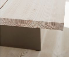 Dinesen plank as table top