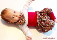 Baby-Pumpi zum Mitwachsen - Wunschgröße von Wichtelwelten  auf DaWanda.com